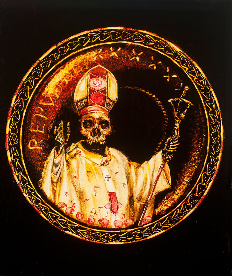 Oil on canvas from the collection Pope John Paul II